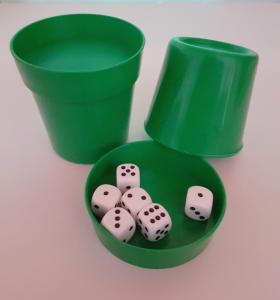 Produkte der GLZ-Innovation GmbH - Easy-DiceCup grün